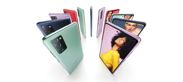 La Fan Edition du Galaxy S20 est proposée en plusieurs coloris