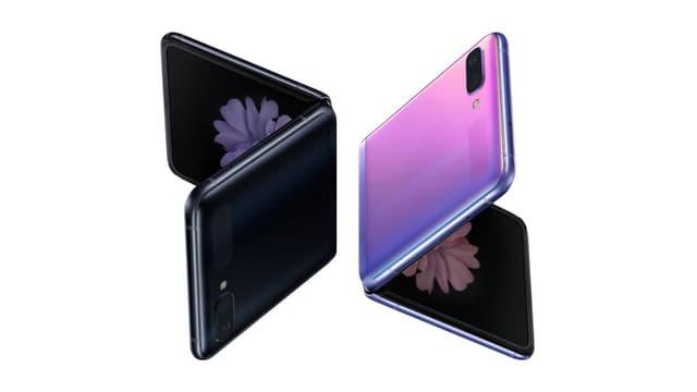 À l'arrière, les fans du Samsung Galaxy Z Flip pourront choisir entre une finition noire ou mauve.