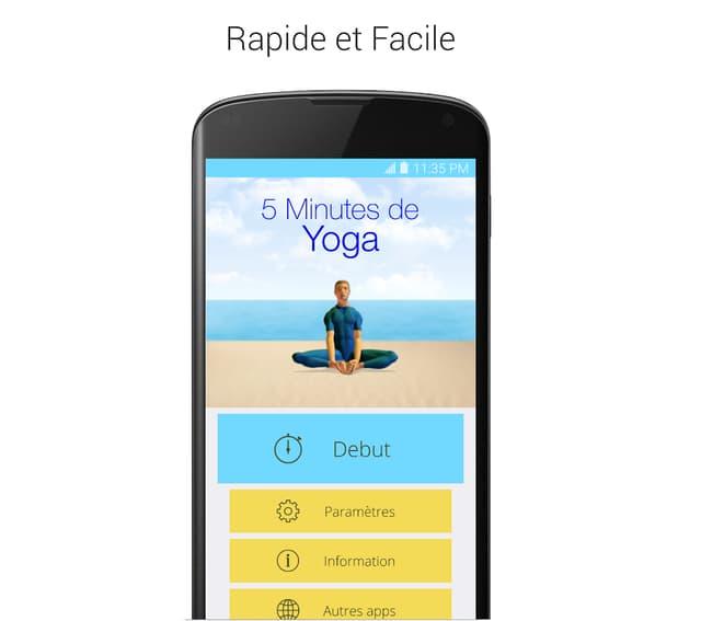 Seulement 5 petites minutes de yoga, pas plus !