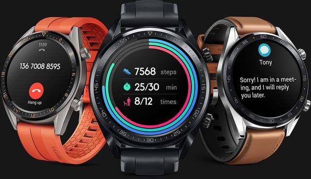 La Huawei Watch GT 2 est disponible sur la boutique en ligne de SFR