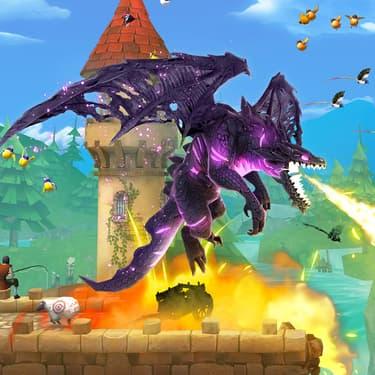 Hungry Dragon : gérez la fureur dévorante de vos dragons sur SFR Jeux Illimité