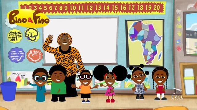Bino et Fino : un dessin animé inclusif et éducatif sur SFR Kids Récré.