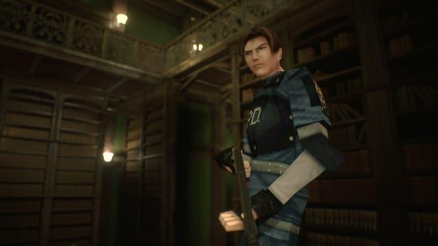Ça, c'est Leon avant son lifting numérique