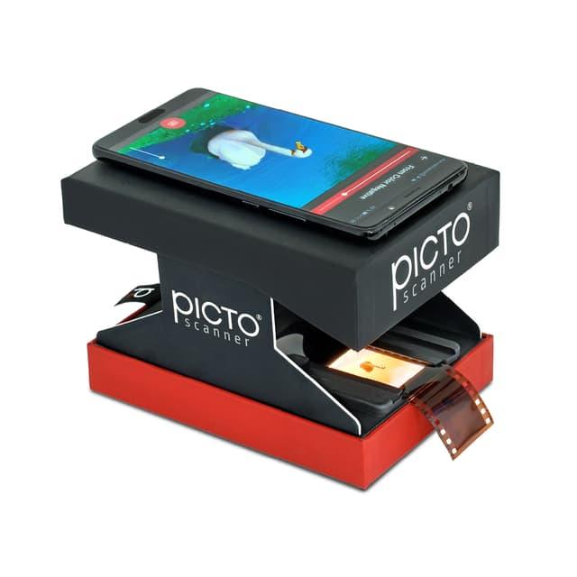 Poser son smartphone sur le dessus de l'appareil suffit à scanner des dispositives !