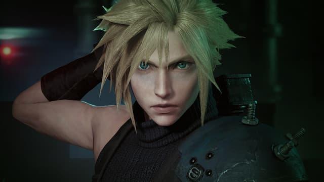 Cloud Strife ressemble énormément à sa version dans le film Final Fantasy : Advent Children