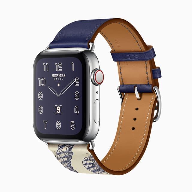 Un des quatre modèles d'Apple Watch Hermès