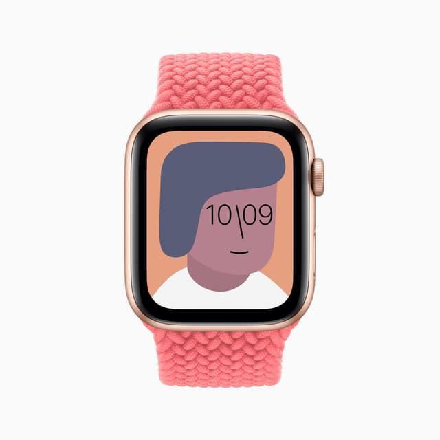 Avec watchOS 7, il est possible de personnaliser les cadrans de son Apple Watch, et de le partager