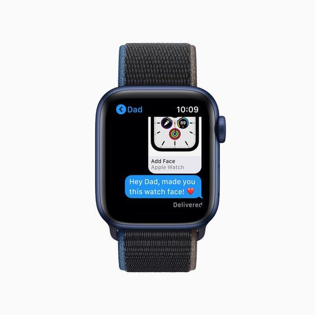 Envoyer des SMS depuis l'Apple Watch Series 6, un jeu d'enfant.