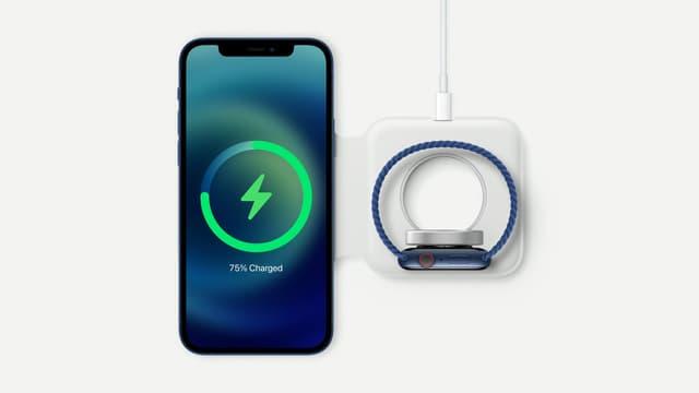 MagSafe permet déjà d'accrocher certains accessoires pour les recharger