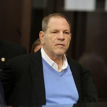 Le producteur Harvey Weinstein lors de sa première audience en mai 2018.