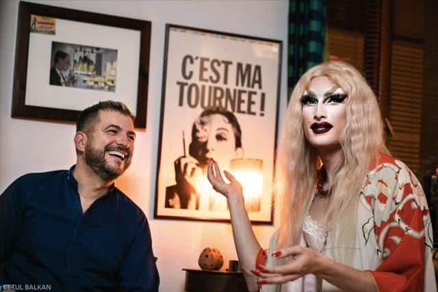 Éric Guérin et Alice Psycho lors de notre interview.