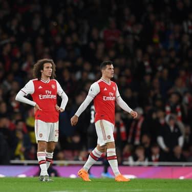 Granit Xhaka, le capitaine d'Arsenal, sort sous les sifflets du public lors du match nul concédé à l'Emirates Stadium face à Crystal Palace le dimanche 27 octobre 2019