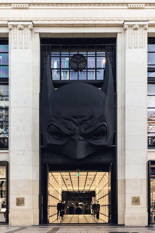 La Batcave sur les Champs-Élysées ?