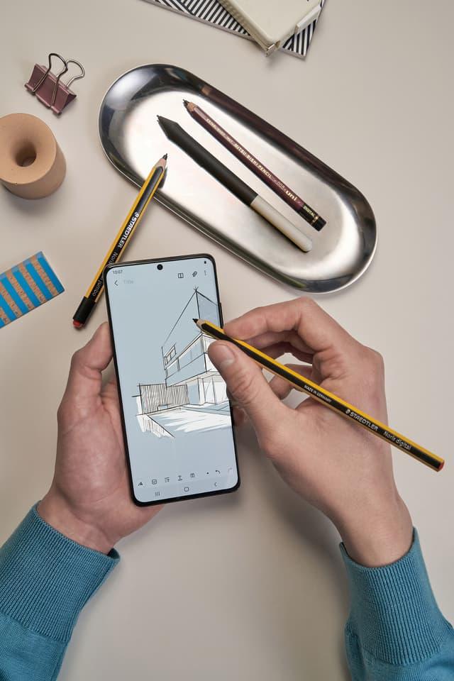 Le Samsung Galaxy S21 Ultra est compatible avec le styler S Pen de la firme coréenne