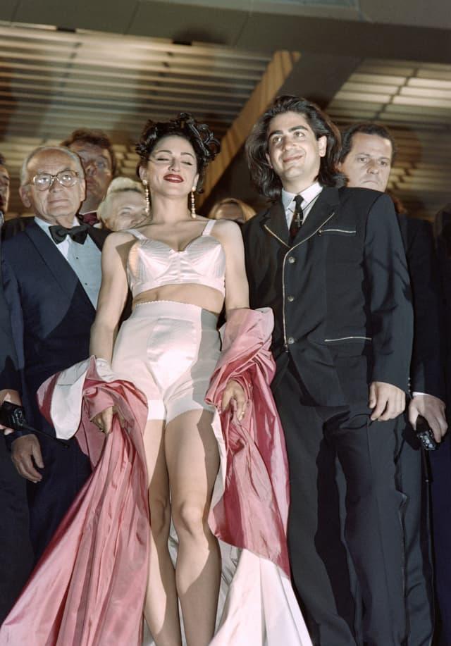 En 1991, Madonna fait sensation dans sa tenue signée Jean-Paul Gaultier