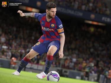 eFootball PES 2020 : un magnifique contrôle de balle