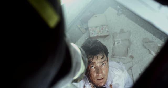 Charlie Sheen dans le film 11 septembre.