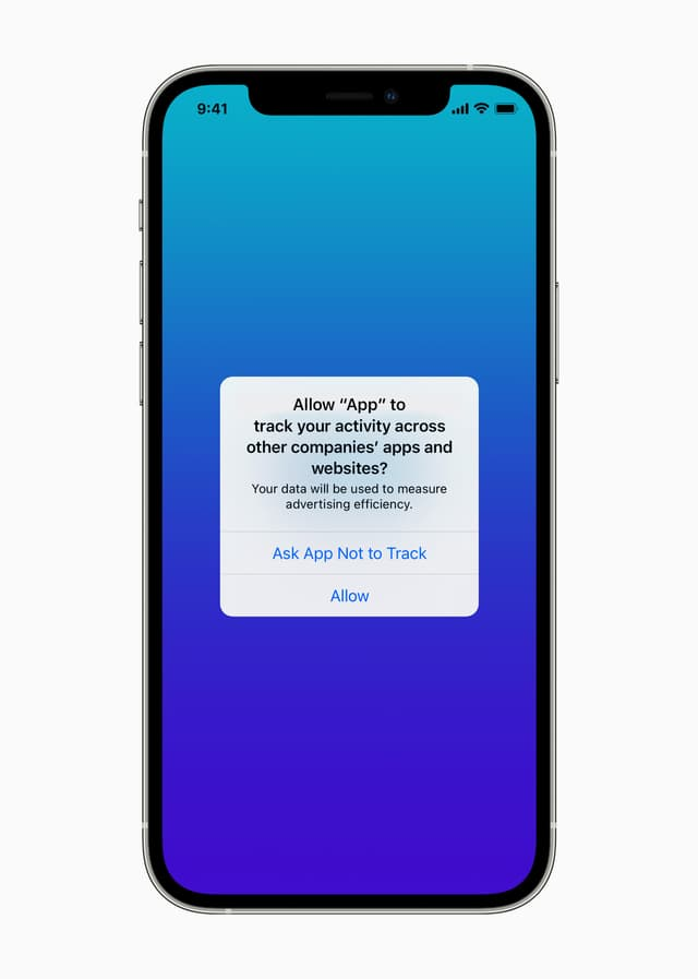 Avec iOS 14.5, contrôlez l'accès des applications tierces à vos données.