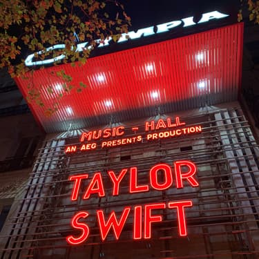 Taylor Swift à l'Olympia : on y était !