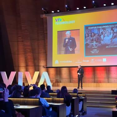 Maurice Lévy, co-fondateur de Viva Technology.