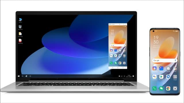 ColorOS 12 embarque la fonction PC Connect, pour utiliser son smartphone sur son PC