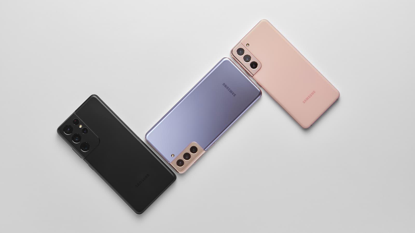 La nouvelle merveille de Samsung, le Galaxy S21