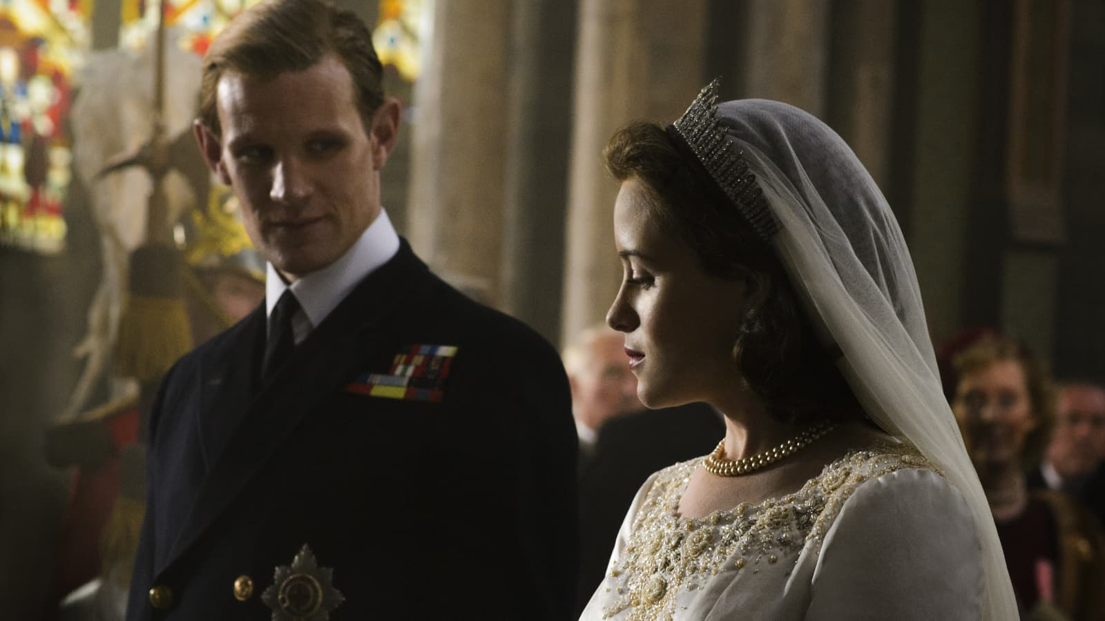 Plongez dans The Crown sur Netflix