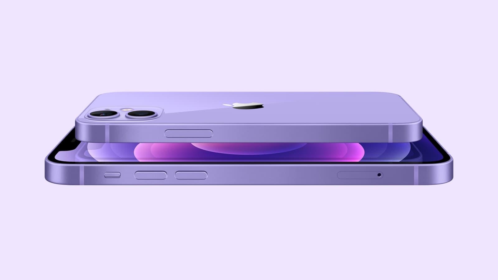 L'iPhone 12 mauve est chez SFR