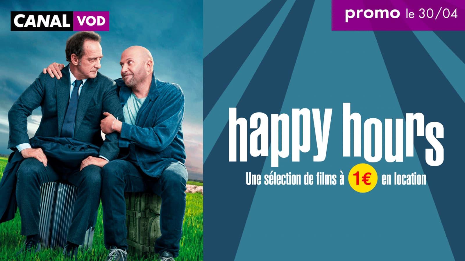 Profitez des Happy Hours sur CANAL VOD !