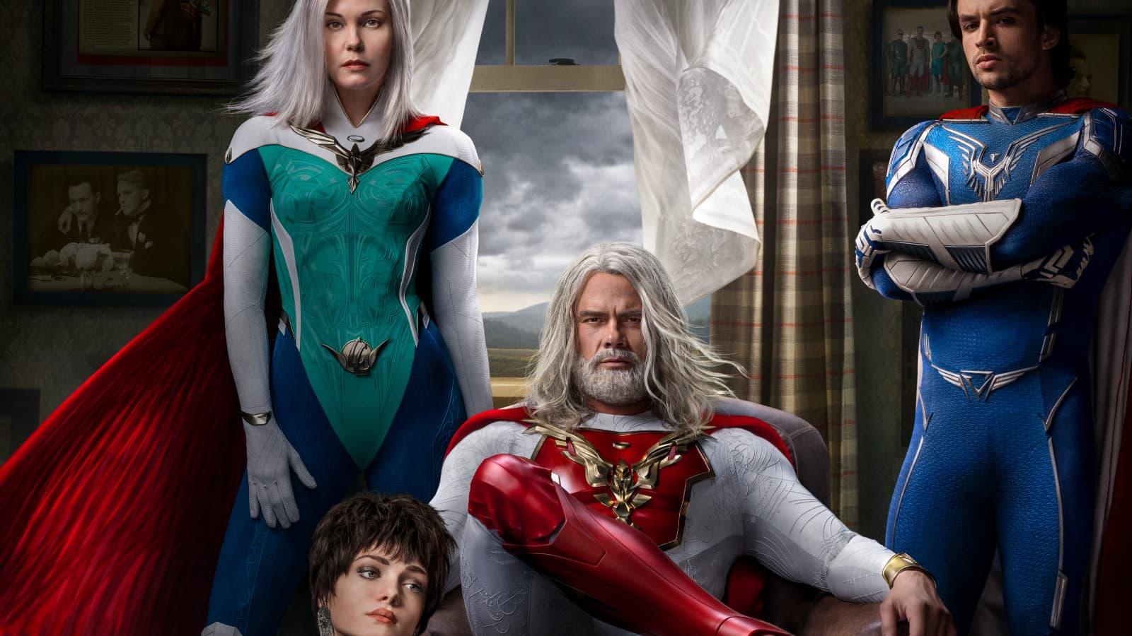 Les super-héros arrivent sur Netflix