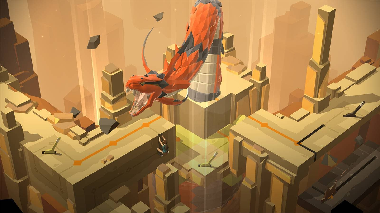 Retrouvez Lara Croft GO sur SFR Jeux Illimité