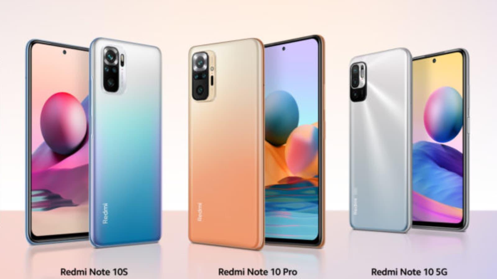 La série des Redmi Note 10 est chez SFR