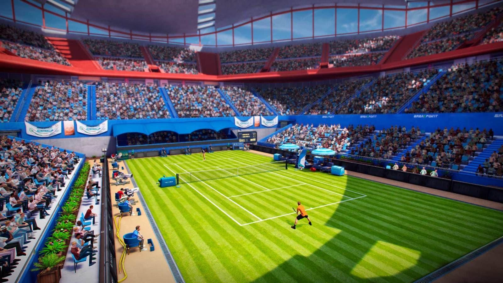 Tennis World Tour, à découvrir sur SFR Gaming