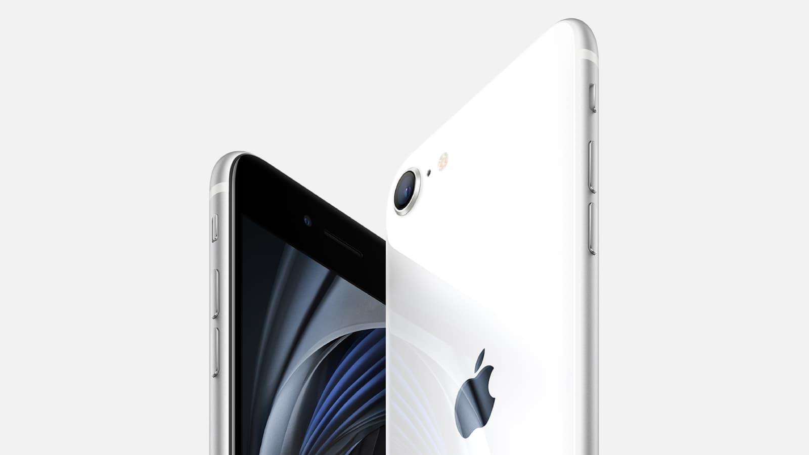 Craquez pour l'iPhone SE chez SFR