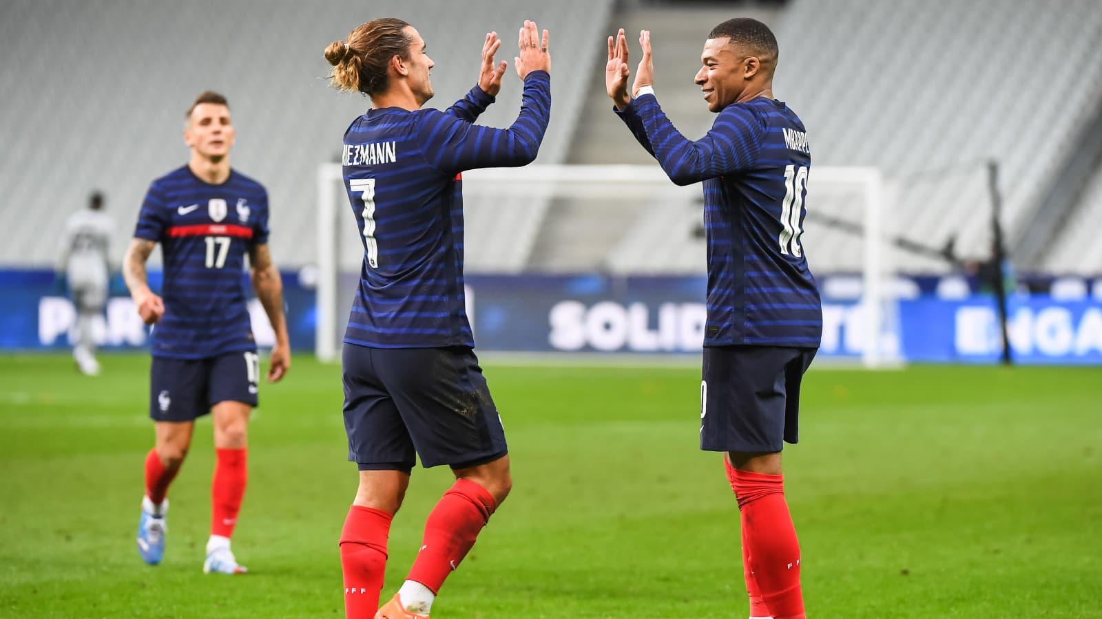 En avant avec les Bleus pour l'Euro 2020 !