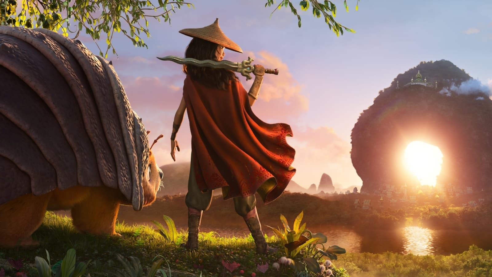 Regardez Raya et le Dernier Dragon sur Disney+ avec le pack Disney