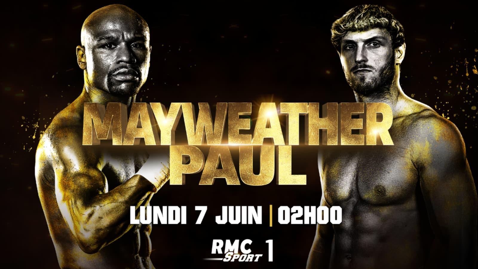 Suivez le combat Maywheather VS. Paul en exclusivité sur RMC Sport
