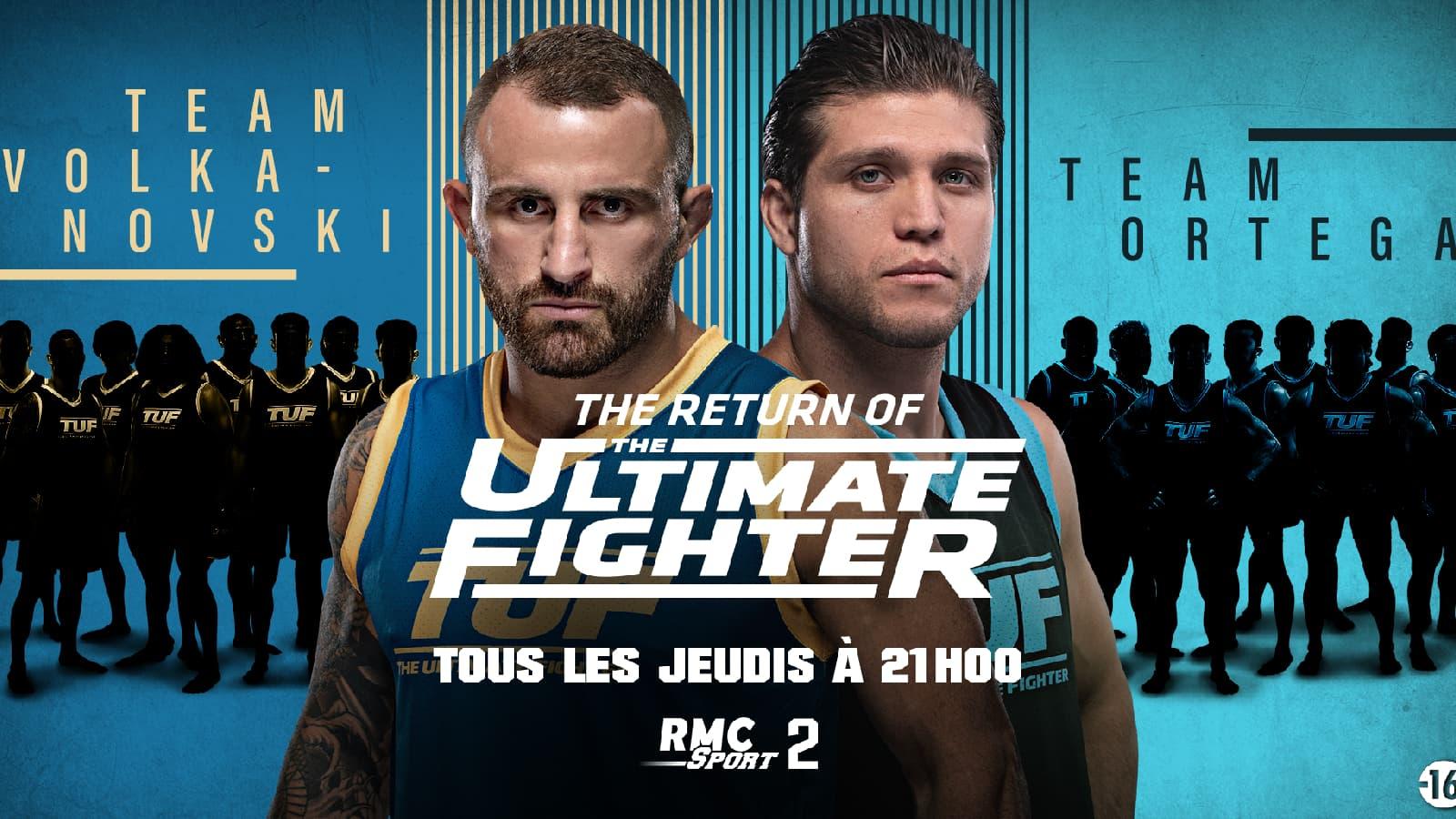 Retrouvez The Ultimate Fighter et l'UFC sur RMC Sport