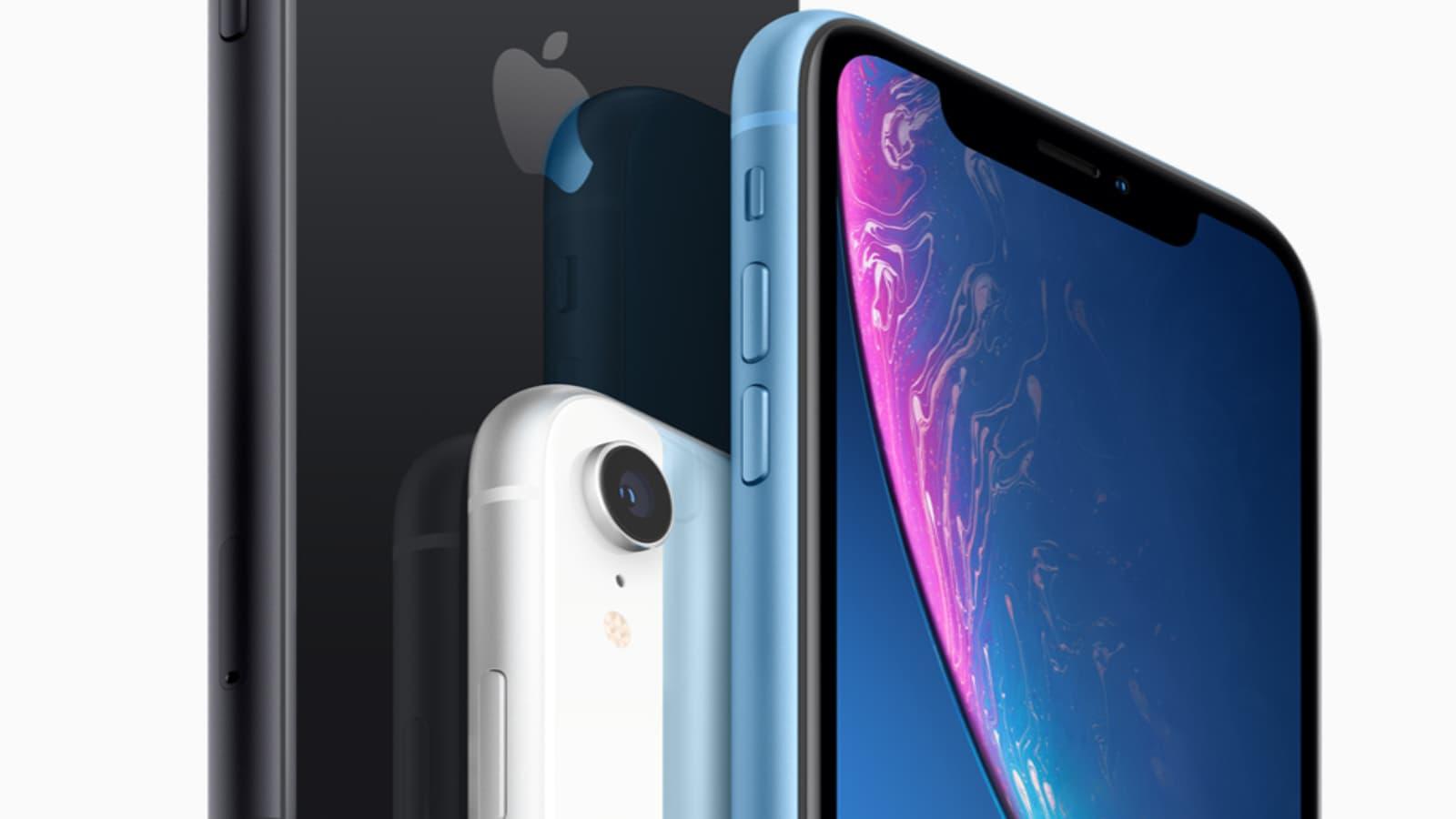 Croquez dans la pomme, craquez pour l'iPhone XR
