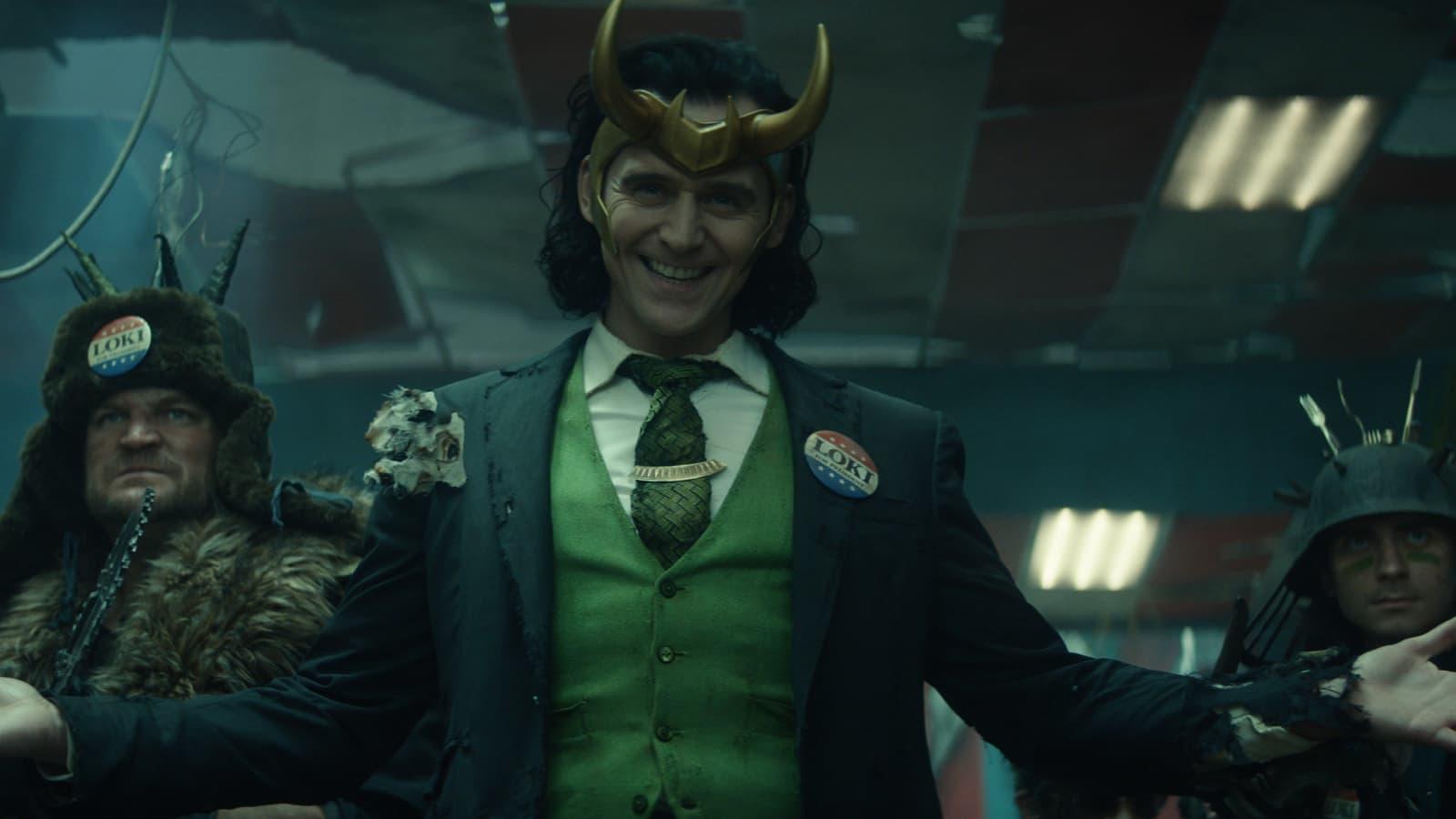 Tom Hiddleston est Loki sur Disney+