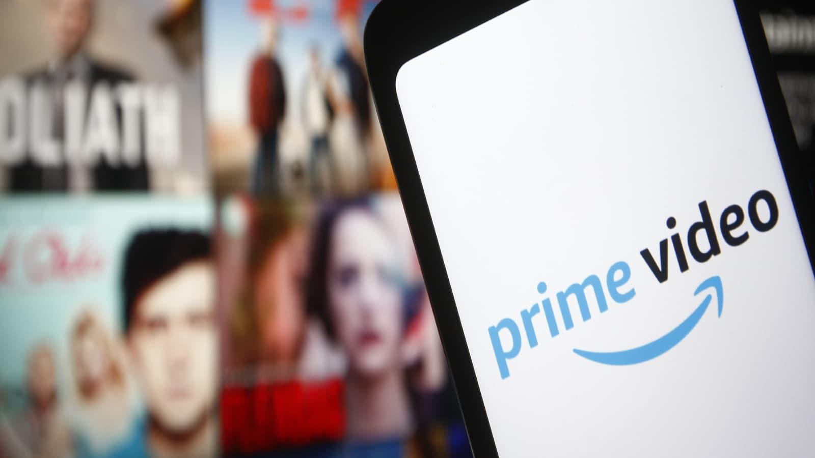 Livraison de films et séries en continu sur Amazon Prime Video