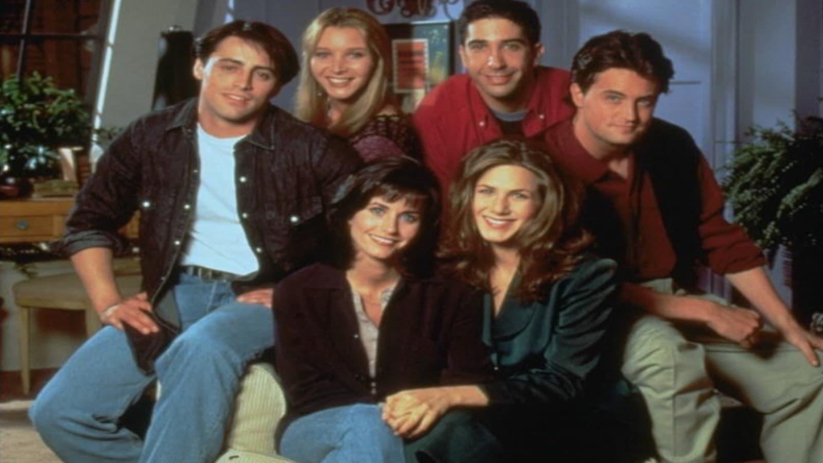 Les 10 saisons de Friends sont sur Netflix