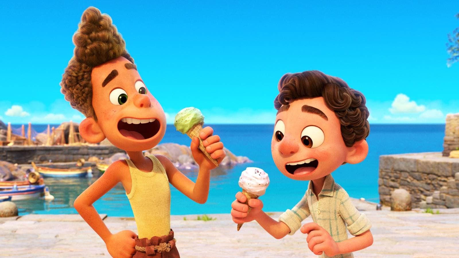 Luca, le dernier Pixar est déjà disponible sur Disney+