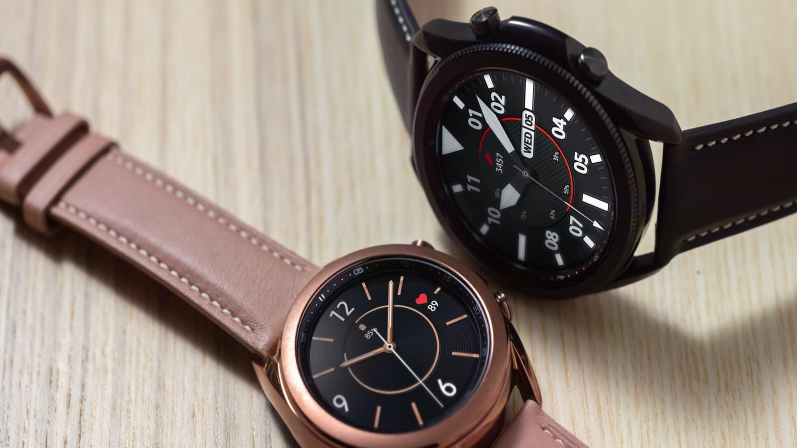 C'est l'heure de craquer pour la Samsung Galaxy Watch