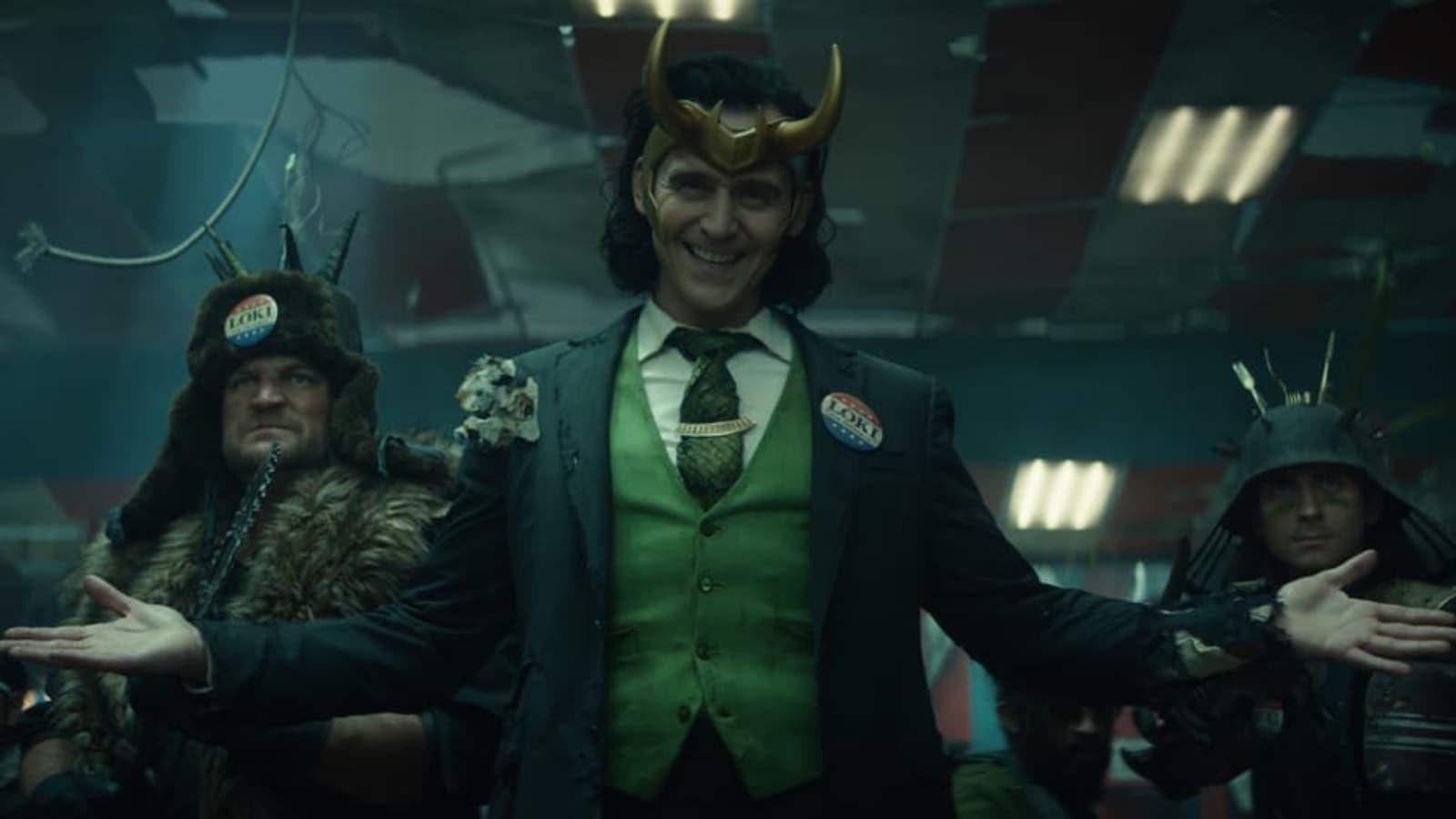 Loki vous accueille à bras ouverts sur Disney+
