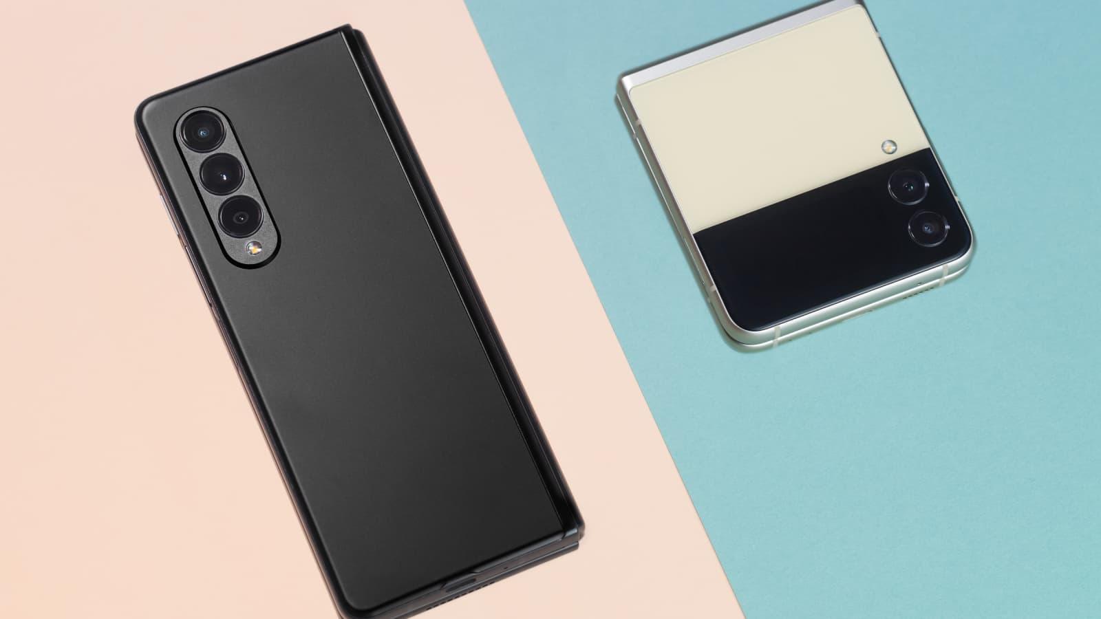 Craquez pour les nouveaux smartphones pliables de Samsung
