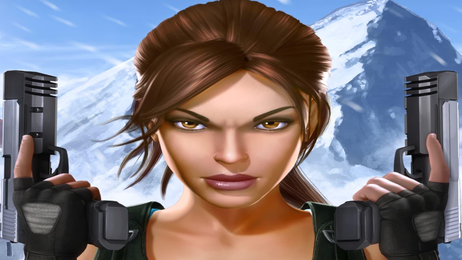 Retrouvez Lara Croft sur SFR Jeux Mobile