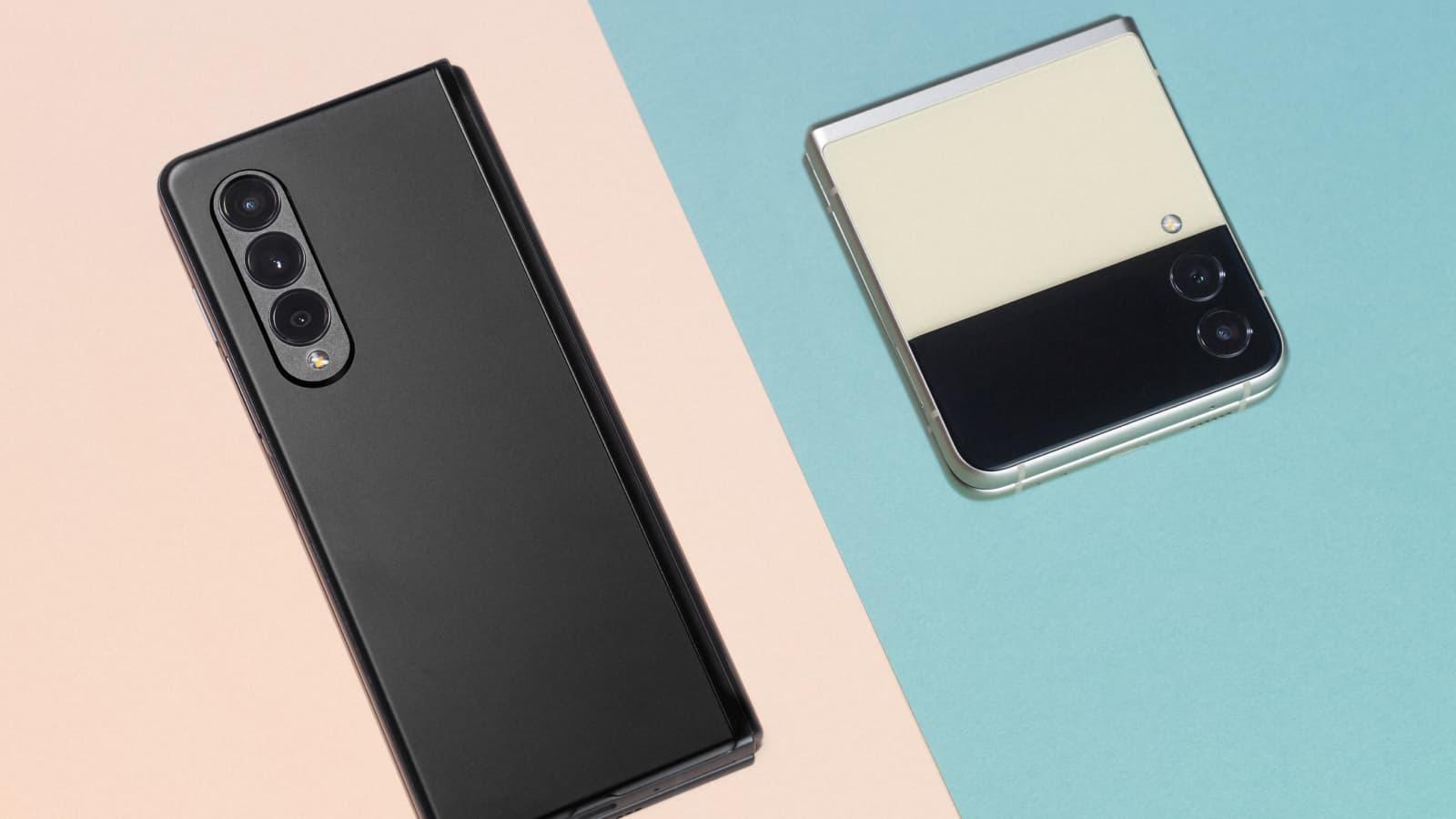 Craquez pour les Samsung Galaxy Z Fold3 et Z Flip3
