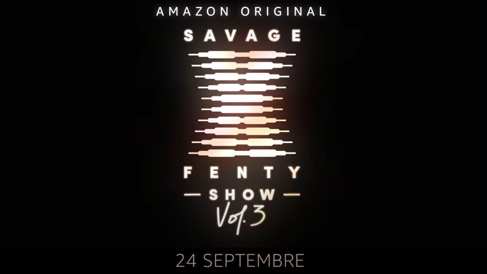 Savage x Fenty Vol. 3 sur Prime Video le 24 septembre