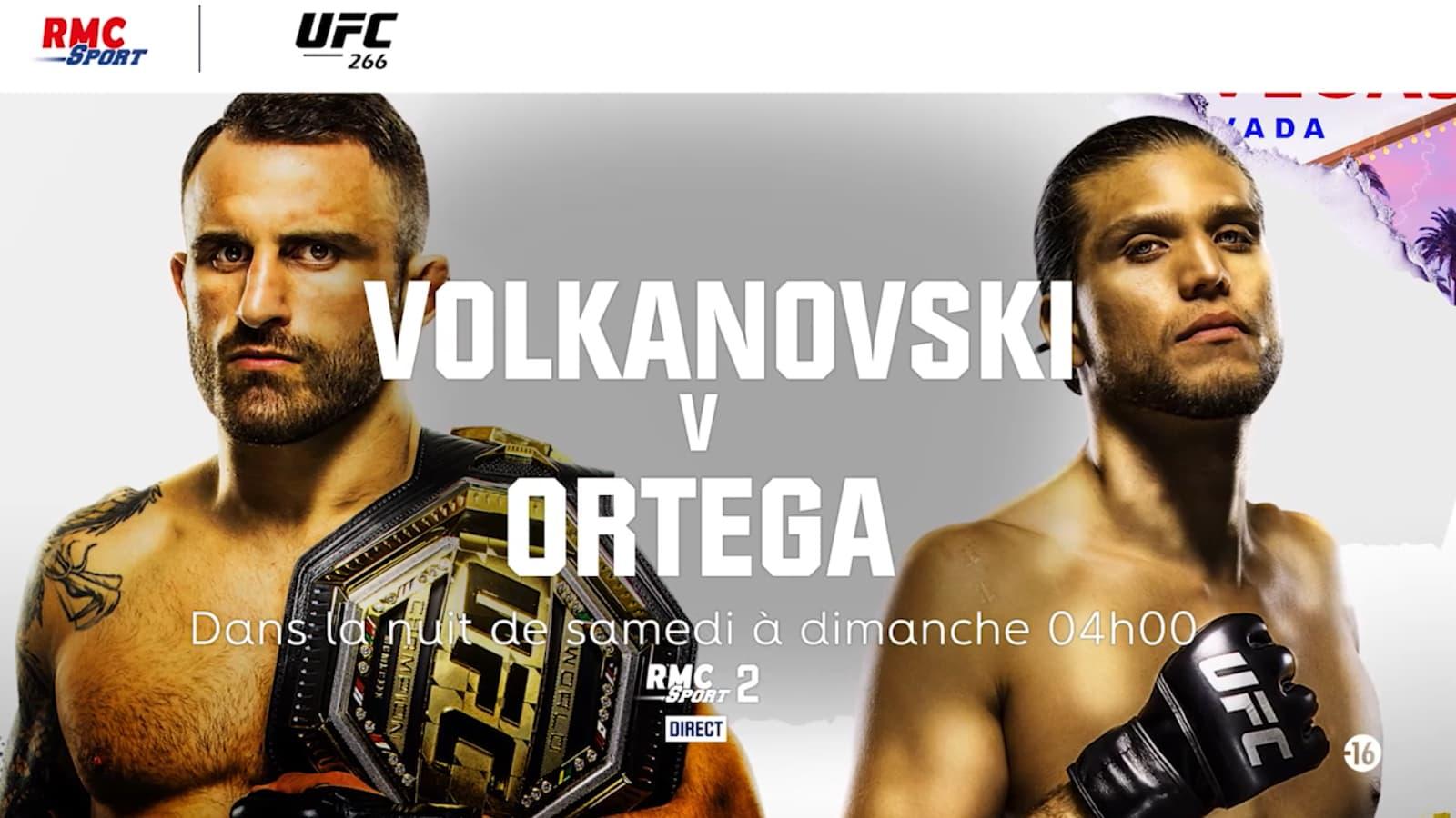 Suivez l'UFC 266 en exclusivité sur RMC Sport